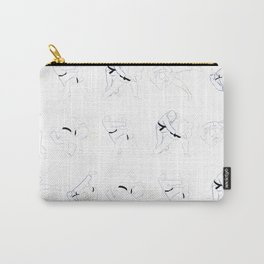 Judo Throw Pattern Carry-All Pouch