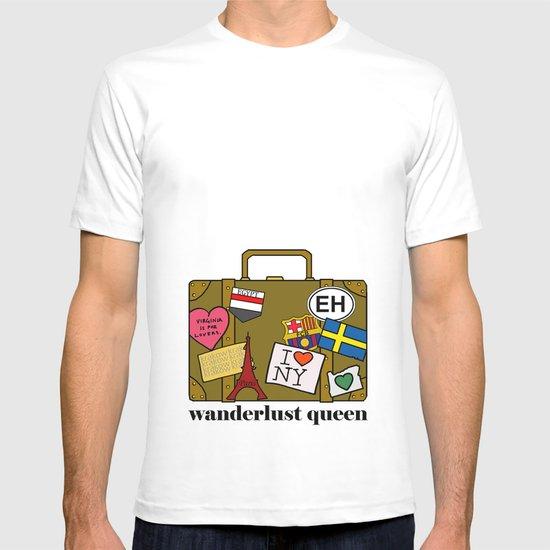 Wanderlust Queen T-shirt