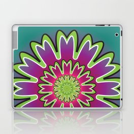 Growth Mandala - מנדלה צמיחה Laptop & iPad Skin