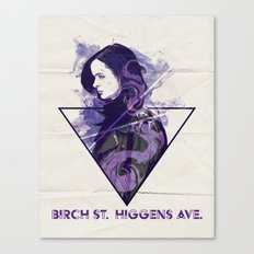 Birch St. Higgins Ave. Canvas Print