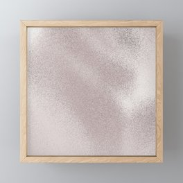 Fairydust Blush Framed Mini Art Print