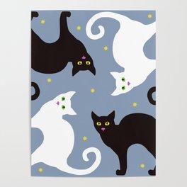 Cat Quartet Poster