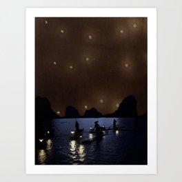 Night Drift Art Print