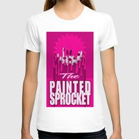 yankees T-shirts featuring The Painted Sprocket by Big Red Sign Shop