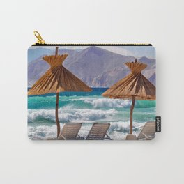 Wave Sea Carry-All Pouch