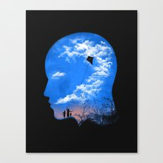 Pulling Out Some Thoughts Canvas Print
