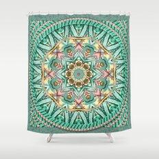 Sea Angel Kaleidoscope Shower Curtain