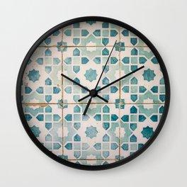 Lisbon Colours Wall Clock