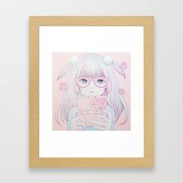 Gamer Girl 4 Framed Art Print