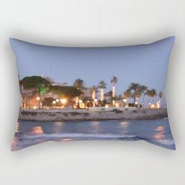 Antibes Cote d´Azur Mediterranee Rectangular Pillow