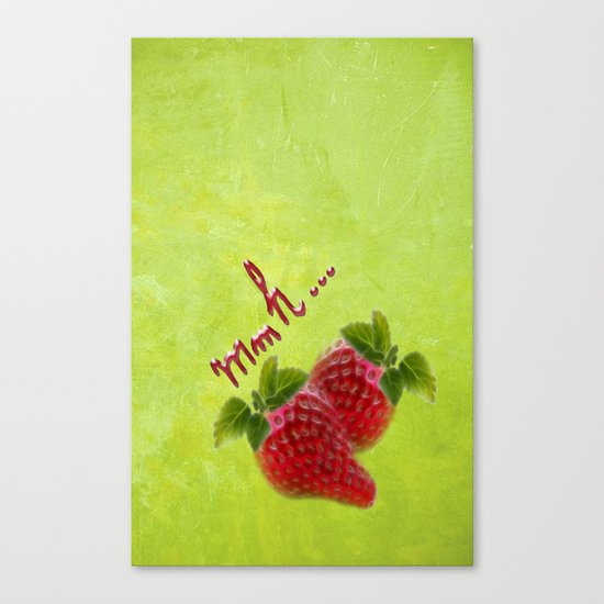 Strawberry 2 Canvas Print