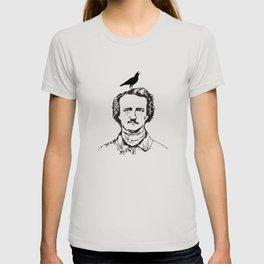 best edgar allan poe vintage T-shirt