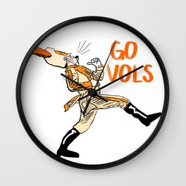 University of Tennessee Drum Major Wall Clock