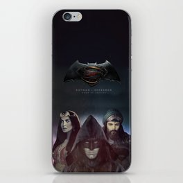 "bat man vs superman ""Samarkand""  iPhone Skin"