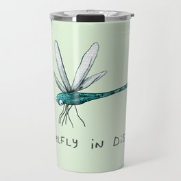 Damselfly in Distress Travel Mug