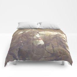 Draft Horses Comforters