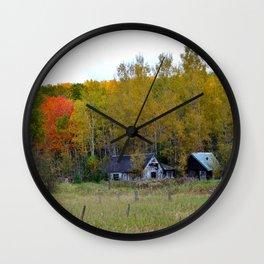 Old Homestead Wall Clock