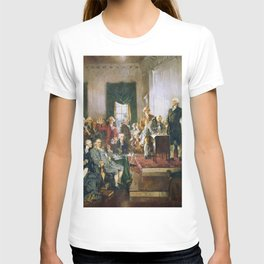 The Signing of the Constitution of the United States - Howard Chandler Christy T-shirt