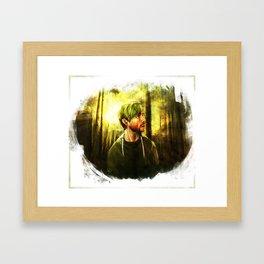 Sucker for Forests Framed Art Print