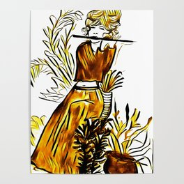 The Flute Muscian Poster