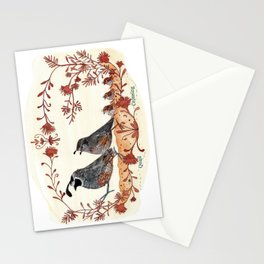 Quails Crossing Stationery Cards
