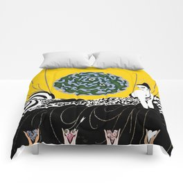 "Art Deco Design ""Selection of the Heart"" Comforters"