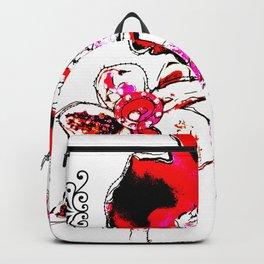 'flower ornaments brittmarks' Backpack