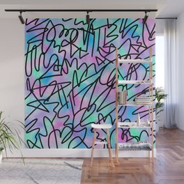 Watercolour Abstract Pastel Leotard Wall Mural