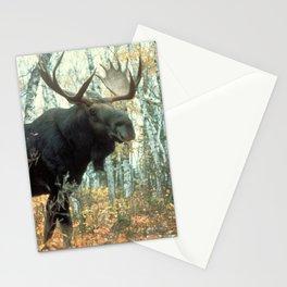 Huge Moose Stationery Cards