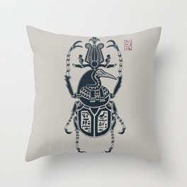 Kafkian Amulet III: Thoth Throw Pillow