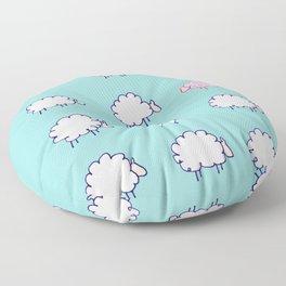 Be unique be you Floor Pillow