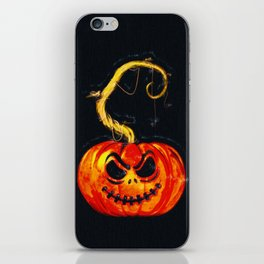 Escape From The Pumpkin Patch iPhone Skin