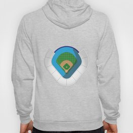 Baseball Stadium Hoody