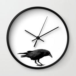 Mr Crow Wall Clock