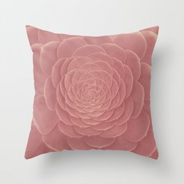 FAT PLANT PINK Throw Pillow
