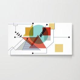 Bauhaus Kandinsky Modern Art Metal Print