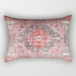 N62 - Vintage Farmhouse Rustic Traditional Moroccan Style Artwork Rectangular Pillow