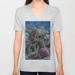 Zombie Octopus Unisex V-Neck