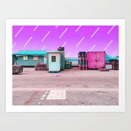 十六桟橋 /// No.16 Art Print