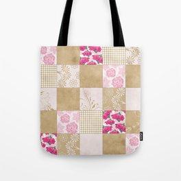 Spring Time - Patchwork Tote Bag