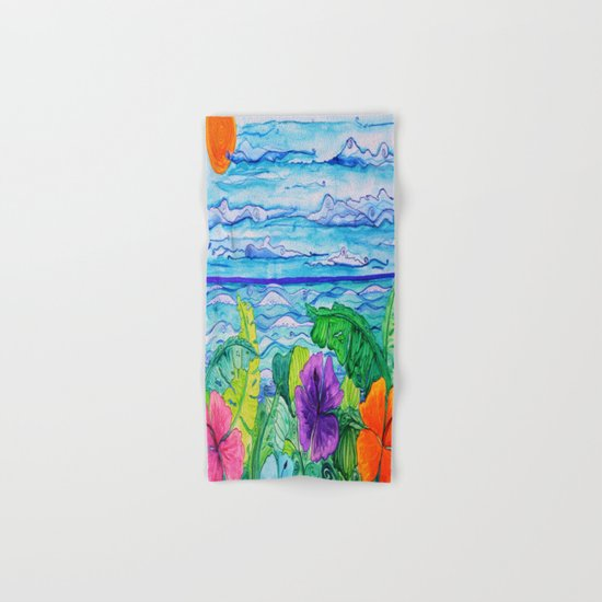 Lanai View Hand & Bath Towel
