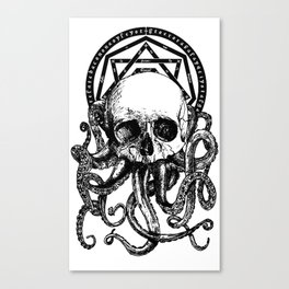 Pieces of Cthulhu Canvas Print