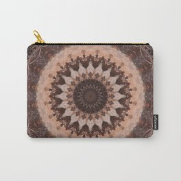 Mandala chocolate Carry-All Pouch