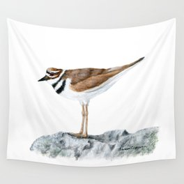 Killdeer Art 1 by Teresa Thompson Wall Tapestry