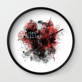 Giant Killer Wall Clock
