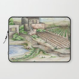 Italian Wine Country Laptop Sleeve
