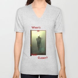 What's in Your Closet? Unisex V-Neck