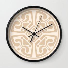 Cream Medalion Wall Clock