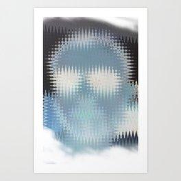 Human disturb Art Print