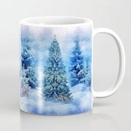 Christmas tree scene Coffee Mug